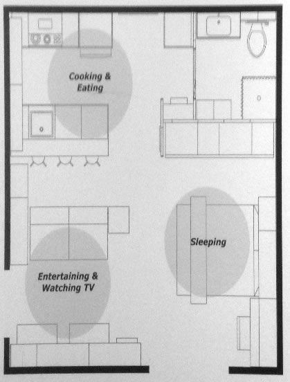 IKEA Small Space Floor Plans: 240, 380, 590 sq ft | Ikea small .