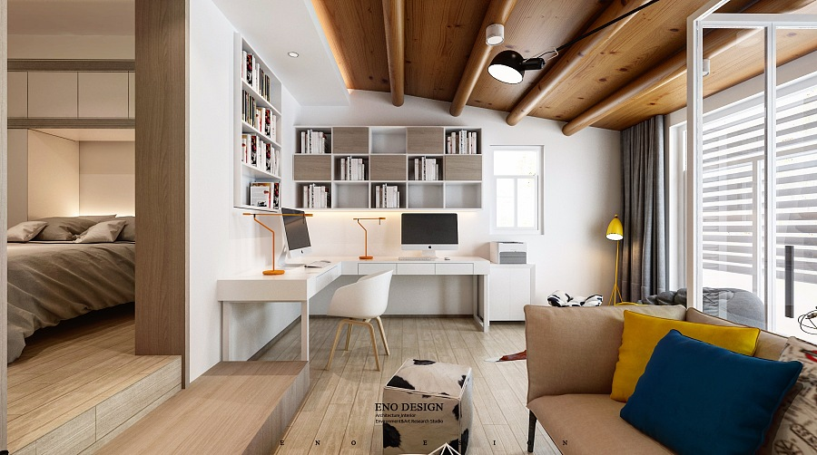 3 Open Layout Apartments That Use Clever Space-Saving Techniqu