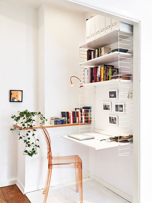 33 Tiny Yet Functional Home Office Designs - DigsDi