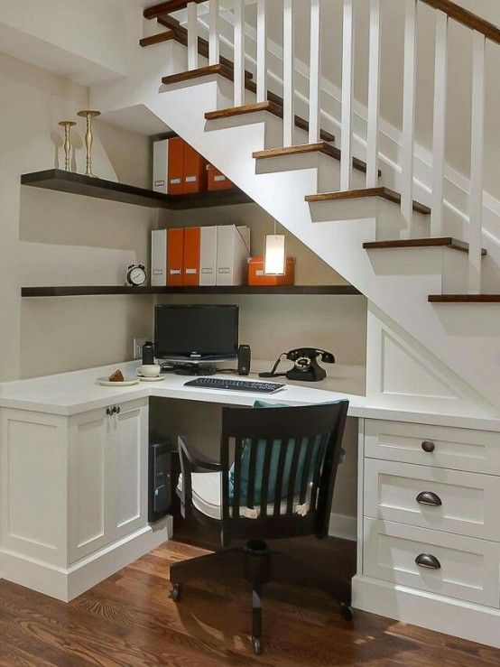 33 Tiny Yet Functional Home Office Designs | Ristrutturazione .