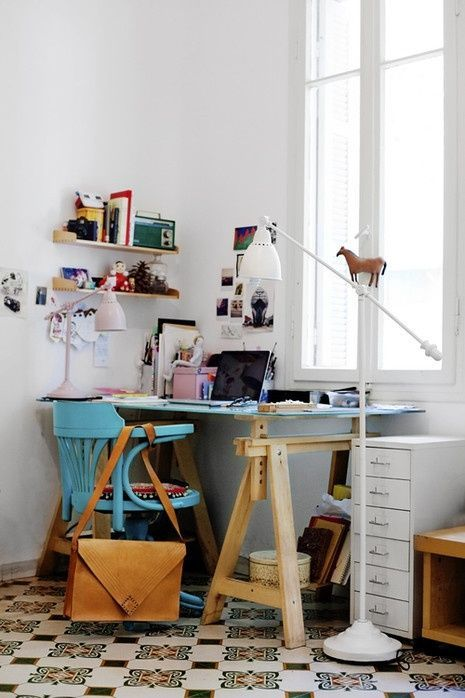 33 Tiny Yet Functional Home Office Designs | Home office design .