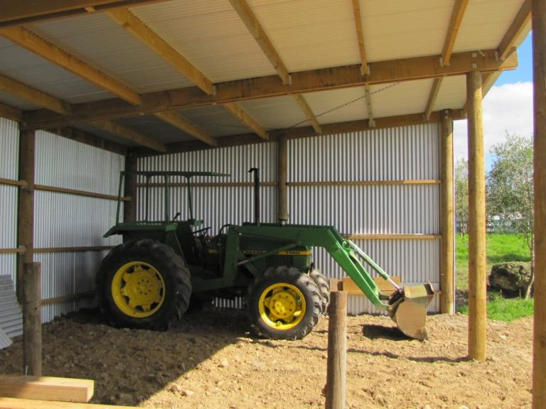 Tractor Storage Shed Plans ~ DIY Shed at Ho