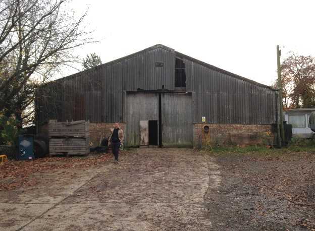 This Tractor Shed in Southeast England Was Converted Into a .