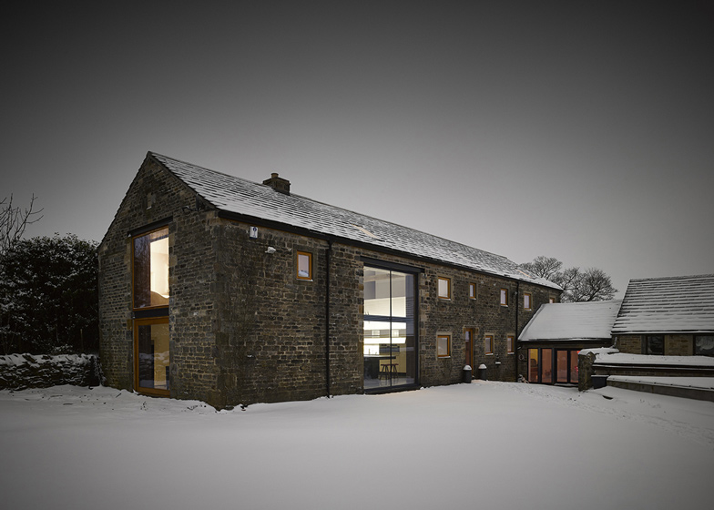 Old Yorkshire barn converted into a modern home by Snook Architec