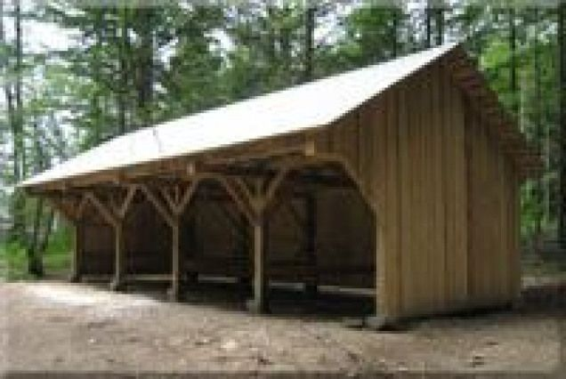 Timber Frame Tractor Shed | Shed, Farm shed, Carport she