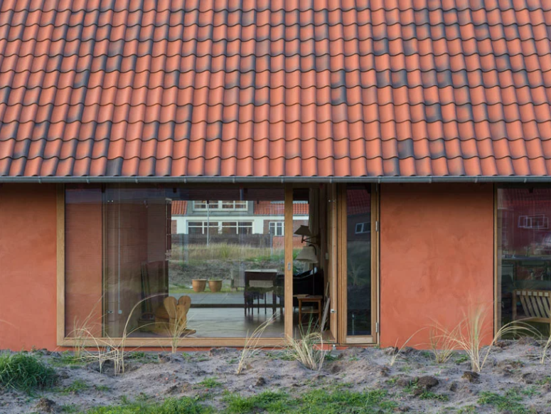 House On Fanø Inspired By Traditional Danish Longhouses - DigsDi