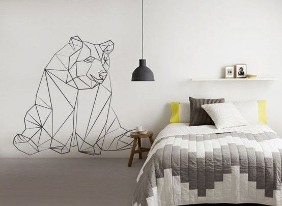 21 Trendy And Eye-Catching Geometric Bedroom Décor Ideas .