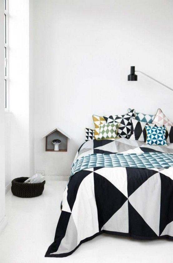 Geometrics: Give your home a fresh look   Bedroom furniture design .