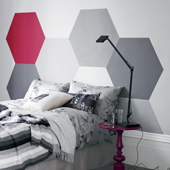 Trendy And Eye Catching Geometric And Bedroom Decor Ideas .