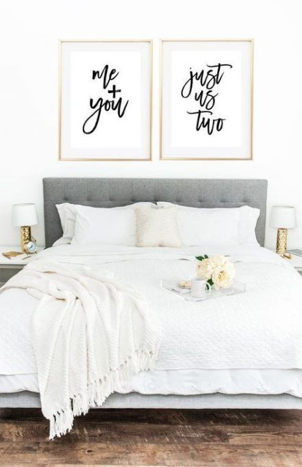 Wall art quotes bedroom love headboards 45 trendy ideas #quotes .