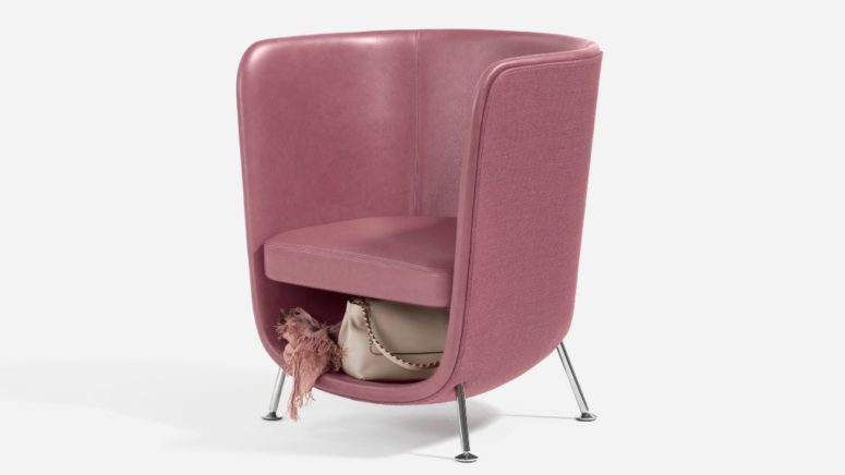 Pocket Armchair To Keep The Space Free Of Clutter - DigsDi