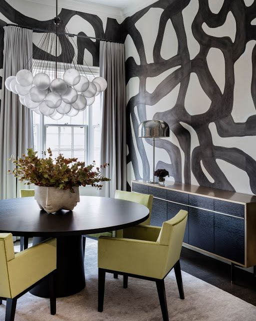 Bold and Daring Choices in a Beacon Hill Residence by Dee Elms .