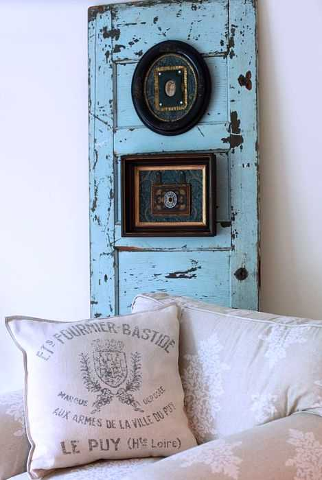 30 Modern Wall Decor Ideas Recycling Old Wood Doors for Unique .