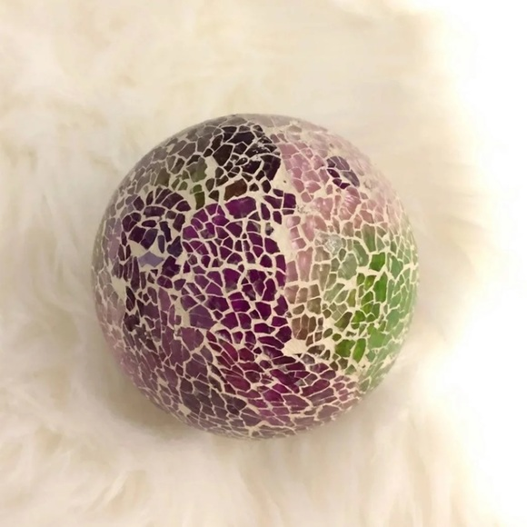 Vintage Accents   Crystal Ball Home Decoration   Poshma