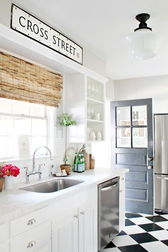 I love a white kitchen, in any sort of style. They always seem so .
