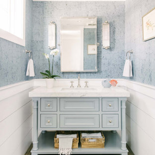 75 Beautiful Wainscoting Bathroom Pictures & Ideas - September .
