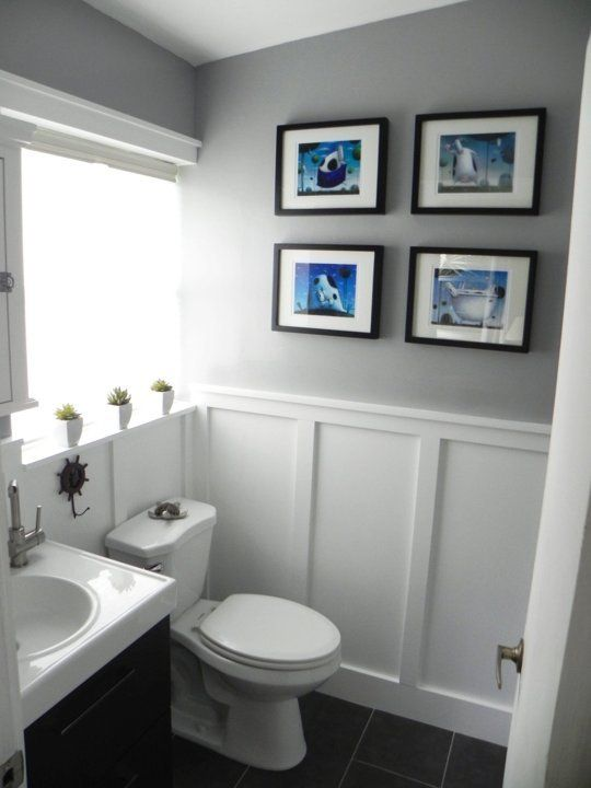 """Before & After: The """"Oops, You Got Us in Trouble"""" Bathroom ."""