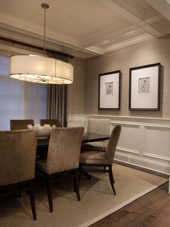 Wall covering - Larsen Grasscloth In Lichen | Grasscloth dining .