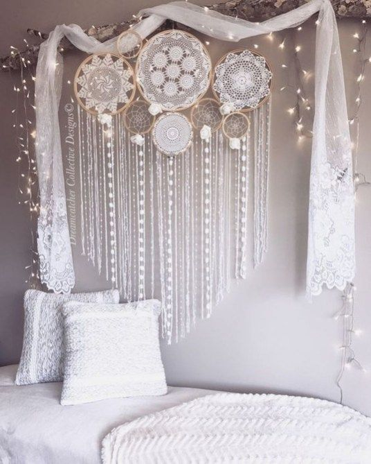 Awesome Wall Murals Ideas For Various Spaces18   Lace dream .