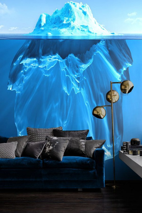 Interior Decorating and Home Design Ideas: 40 Awesome Wall Murals .