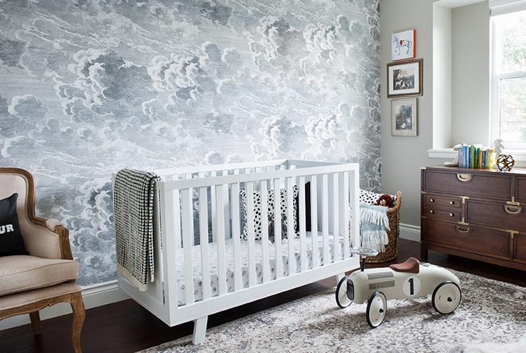 10 Whimsical Kids' Room Accent Walls (And How to Score the Loo