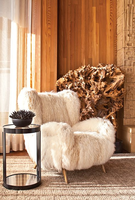 40 Adorable Warm Fur Furniture Pieces For Fall And Winter   Kelly .