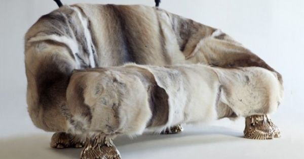 40 Adorable Warm Fur Furniture Pieces For Fall And Winter   Fur .