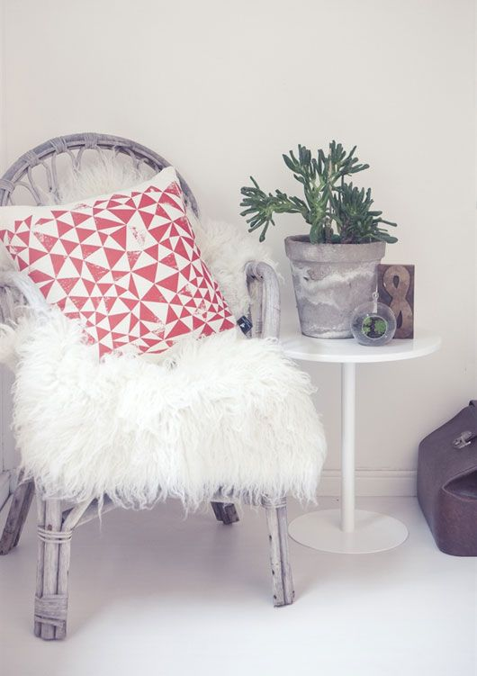 white horse home.   White leather chair, Furniture, Ho
