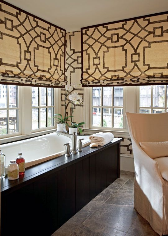 22 Ways To Make A Home Décor Statement With Curtains | Bathroom .