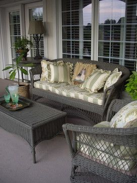 Painted Wicker Design Ideas, Pictures, Remodel and Decor .