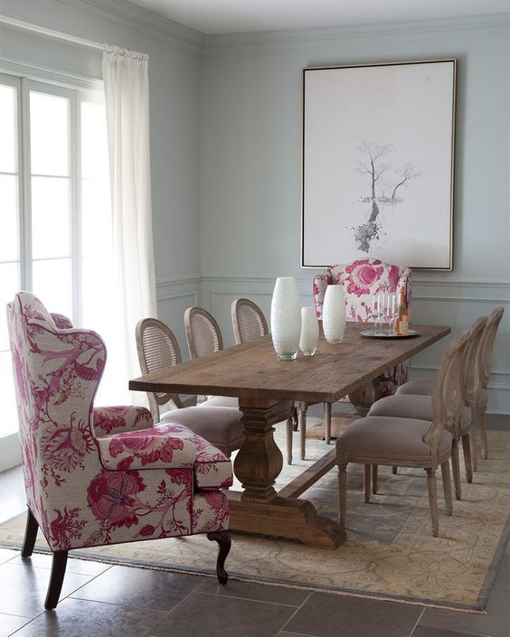 25 Ways To Incorporate A Wingback Chair Into Interior .