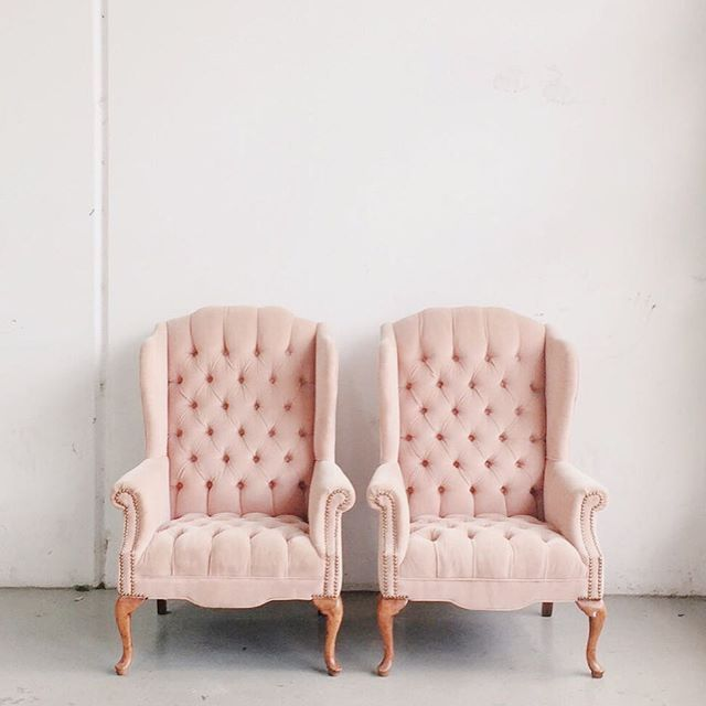 DesignTip | Turn traditional wingback chairs into modern seating .