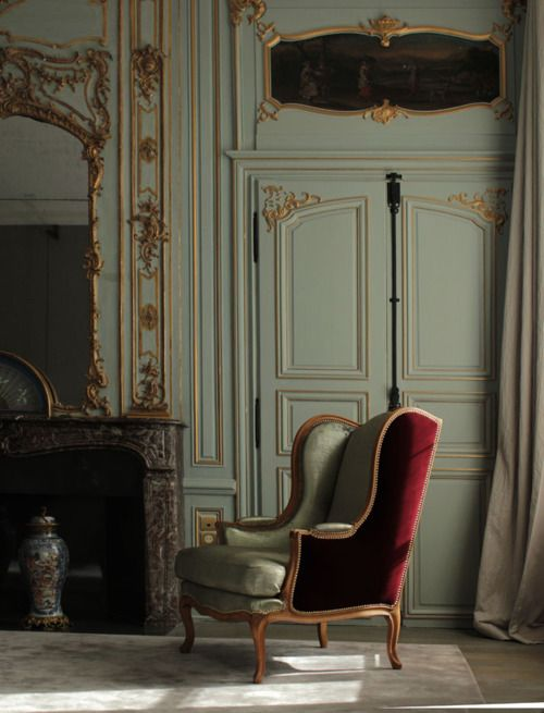 Eye For Design: Decorating With The Wingback Chair......It's .