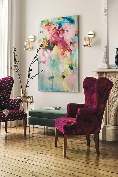25 Ways To Incorporate A Wingback Chair Into Interior (With images .