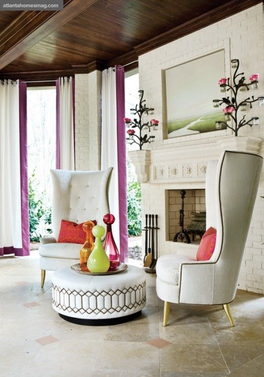 25 Ways To Incorporate A Wingback Chair Into Interior - DigsDi
