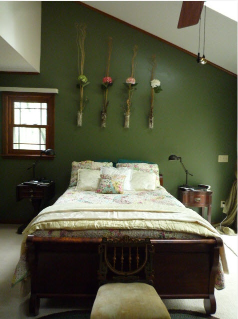 Home Interior Project: Wonderful Spring-Inspired Bedroom .