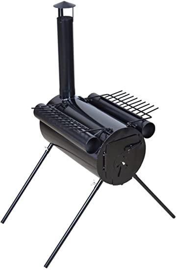 Amazon.com: TMS Portable Military Camping Wood Stove Tent Heater .