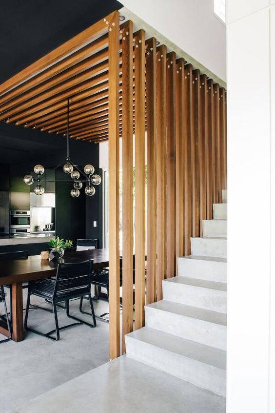 25 Wooden Screen Space Dividers For A Cozy Touch   Contemporary .